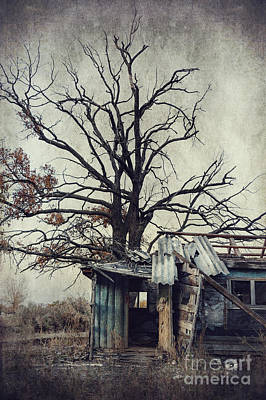 Decay Barn Poster by Svetlana Sewell