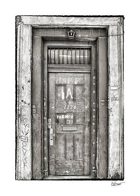Decaying Beauty In Black And White Poster by Brenda Bryant