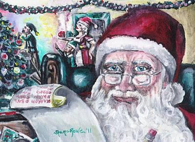 December Poster by Shana Rowe Jackson