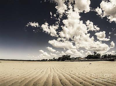 Deception Bay Beach Landscape Poster by Jorgo Photography - Wall Art Gallery