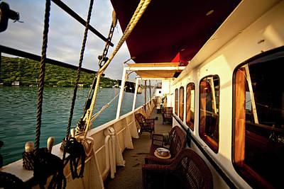 Deck Of Ship, Culebra Island, Puerto Poster