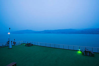 Deck Of The Yangtze River Cruise Ship Poster by Panoramic Images