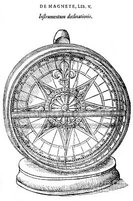 Declinometer, 17th Century Poster by Science Source