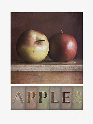 Deco Apples Poster