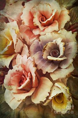 Decoration Flower Poster by Mohamed Elkhamisy