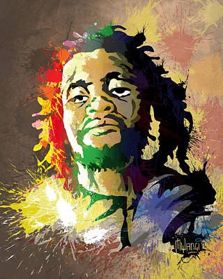 Dedan Kimathi - Freedom Fighter Poster by Anthony Mwangi