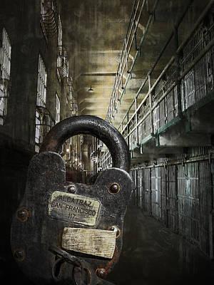 Deep Lockdown Alcatraz Poster by Daniel Hagerman
