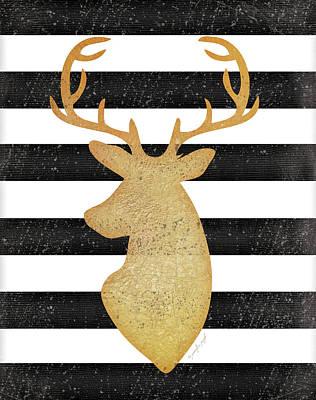 Deer II Poster by Jennifer Pugh