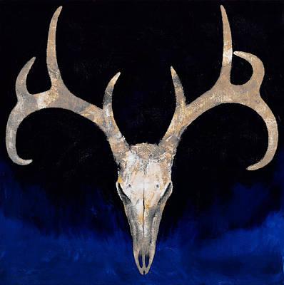 Deer Skull Poster by Michael Creese