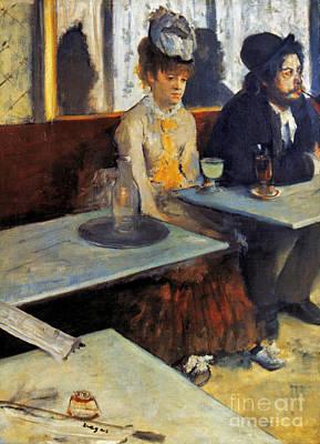 Degas: Absinthe, 1873 Poster