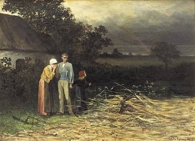 Degroux, Charles 1825-1870. The Lost Poster by Everett