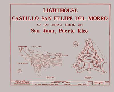 Del Morro Lighthouse - San Juan Puerto Rico Poster