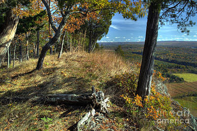 Delaware Water Gap View Poster