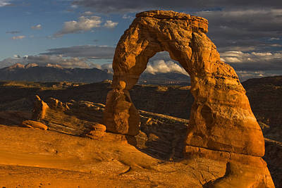 Delicate Arch Poster by Mark Kiver