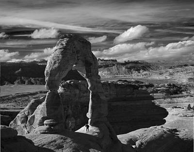 Delicate Arch Poster by Wendell Thompson