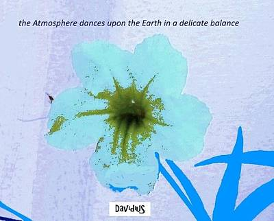Poster featuring the digital art Delicate Balance by David Clark