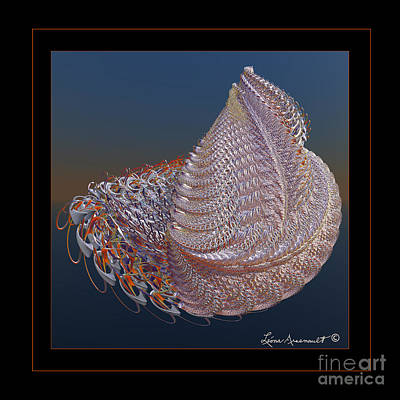 Delicate Wrap Poster by Leona Arsenault