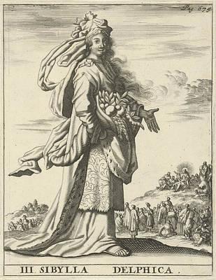 Delphic Sibyl, Print Maker Jan Luyken, Timotheus Ten Hoorn Poster by Jan Luyken And Timotheus Ten Hoorn