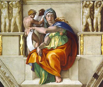 Delphic Sybil Poster