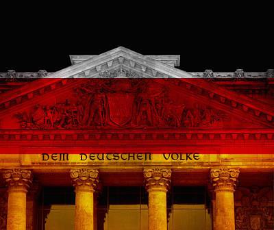 Dem Deutschen Volke Poster by Daniel Hagerman