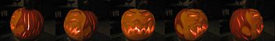 Demented Mister Ullman Pumpkin 2 Poster