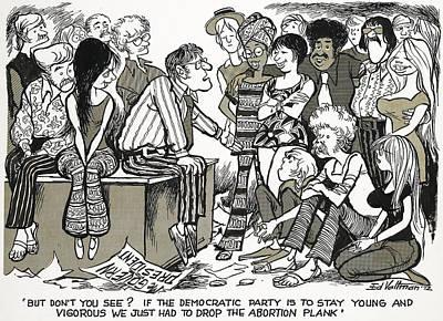 Democratic Platform, 1972 Poster