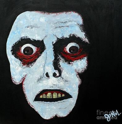 Demon Face Poster