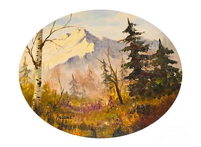 Denali Autumn Poster