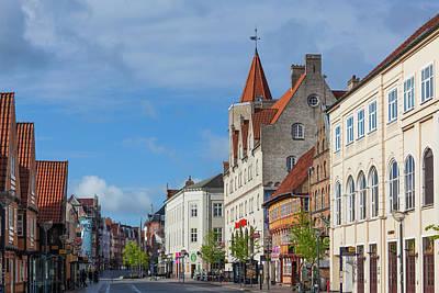 Denmark, Jutland, Aalborg, Osteragade Poster