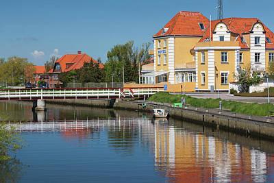 Denmark, Jutland, Grenaa, Buildings Poster