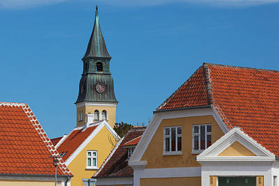 Denmark, Jutland, Skagen, Town Church Poster