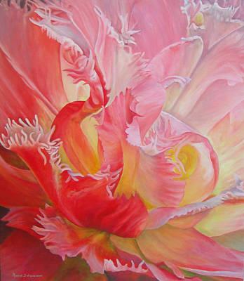 Dentelle De Tulipe Poster