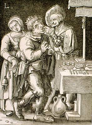 Dentistry In 17th Century France Poster by Universal History Archive/uig