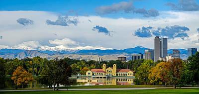 Denver's City Park Poster