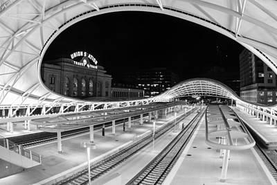 Denver's Union Station Poster by Kristal Kraft