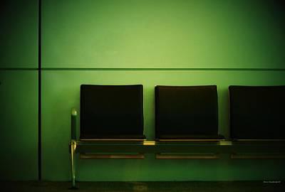 Departure Poster by Steve Godleski