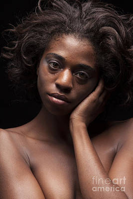 Chynna African American Nude Girl In Sexy Sensual Photograph And In Color 4787.02 Poster