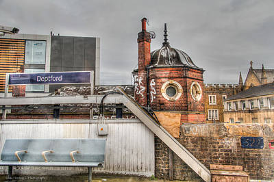 Poster featuring the photograph Deptford Station by Ross Henton