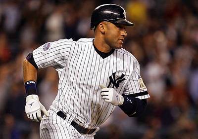Derek Jeter New York Yankees Poster by Retro Images Archive