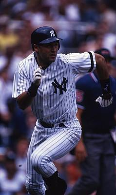 Derek Jeter Poster by Retro Images Archive