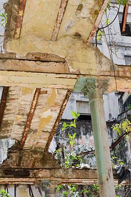 Derelict  2 Havana Cuba Poster by Rob Huntley