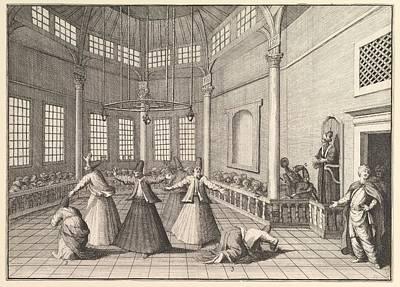 Dervishes Dancing Poster