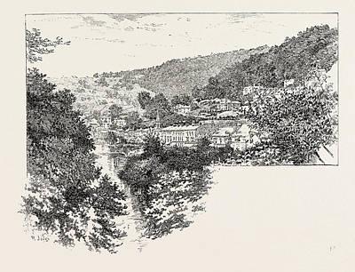 Derwent Terrace, Matlock Poster by English School