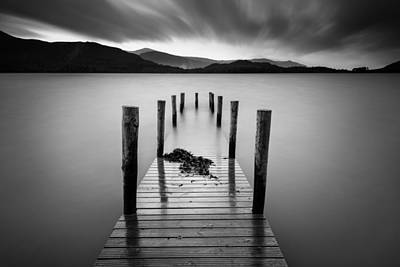 Derwent Water Jetty Poster by Dave Bowman