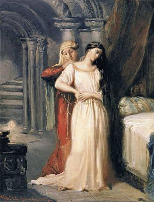 Desdemona Poster by Theodore Chasseriau