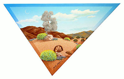 Desert Afternoon Poster