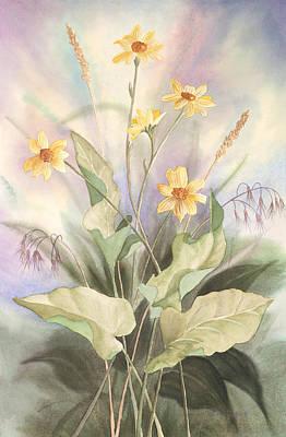 Desert Bouquet Poster