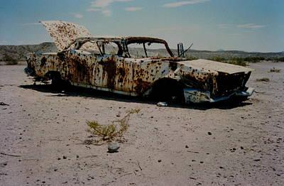 Desert Car Poster