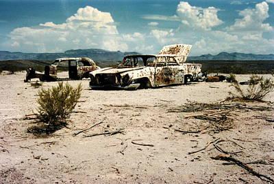 Desert Cars Poster