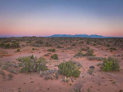 Desert Colors Poster
